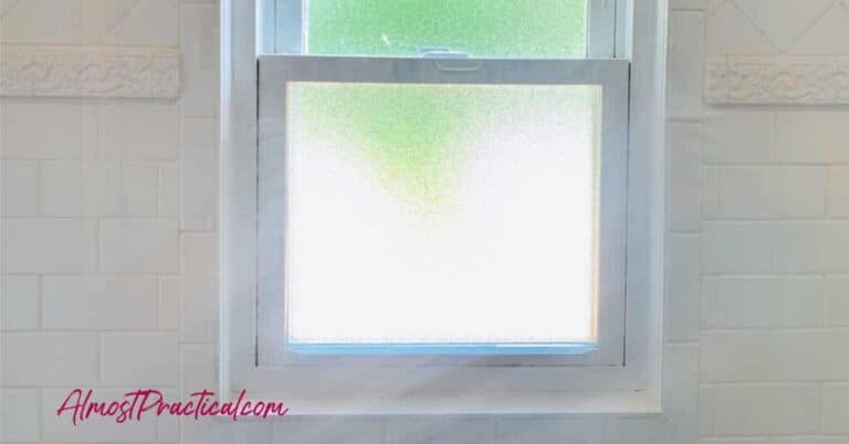 What to Do With a Window in the Shower