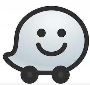 Waze Screenshot Logo
