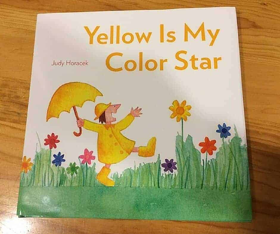 Yellow is My Color Star - Children's Book Review - Judy Horacek