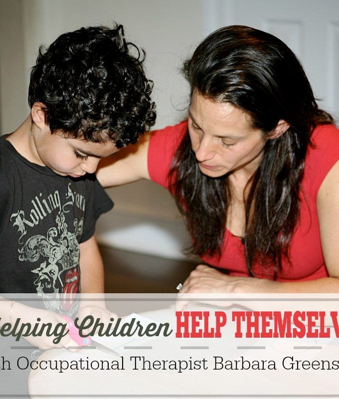 AP0007 – Helping Children Help Themselves with Occupational Therapist Barbara Greenspan