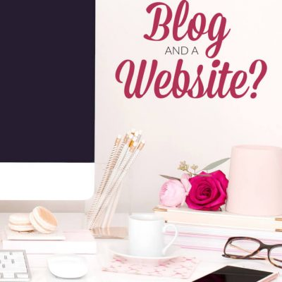 Blogging for Beginners FAQ - What is the difference between a blog and a website? | Blogging tips and tutorials.