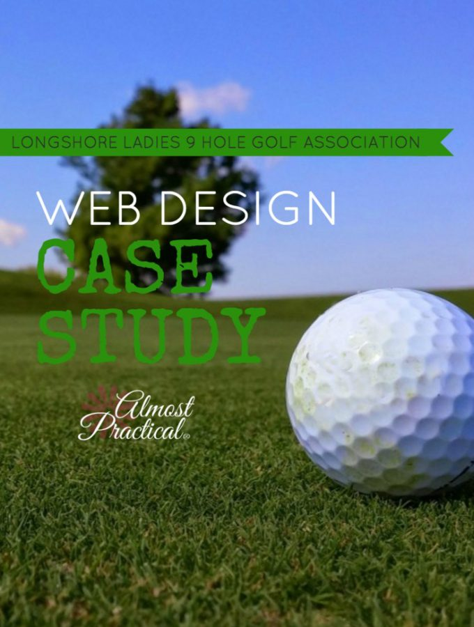 Web Design Case Study – Longshore Ladies Nine Hole Golf Association