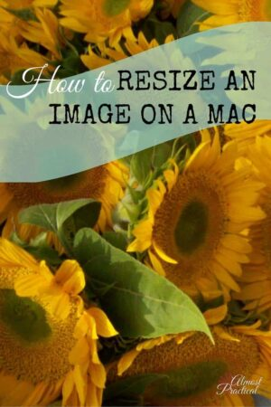 This tutorial explains how to resize images on a Mac using Preview.