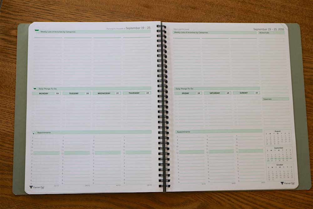 Planner Pad Review - Productivity planner review