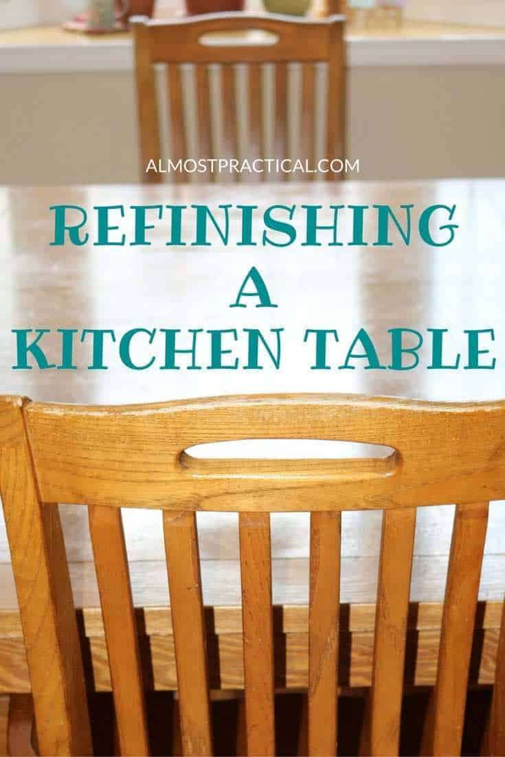 Refinishing kitchen table refinishing our kitchen table introduction loni2shoes refinish your - Refinishing a kitchen table ...