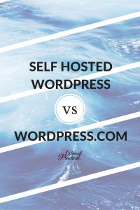 Self hosted WordPress.org vs WordPress.com. Understand the differences and make an informed decision as to which one is right for you.