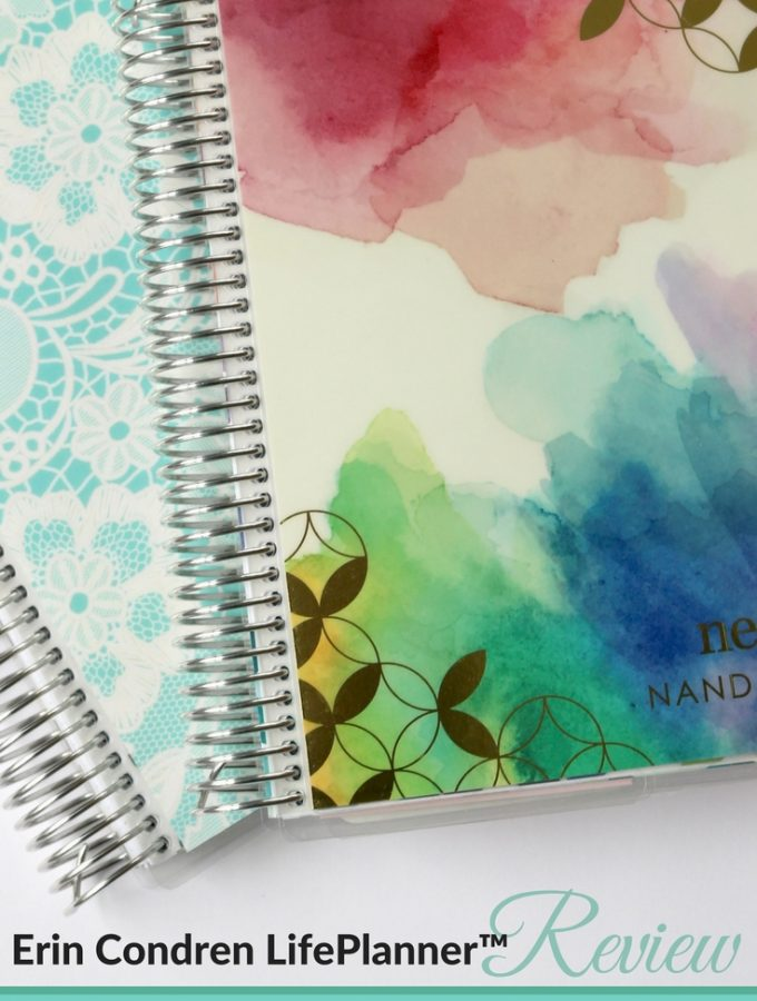 Erin Condren LifePlanner – A Beautiful Planner To Keep You Organized