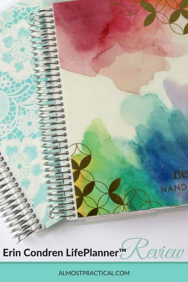 The Erin Condren LifePlanner is a beautiful planner. It will help with time management and productivity and will also speak to your creative side.