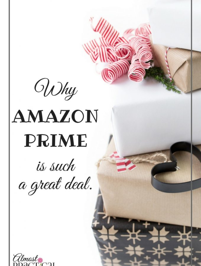 Why Amazon Prime is a Great Deal