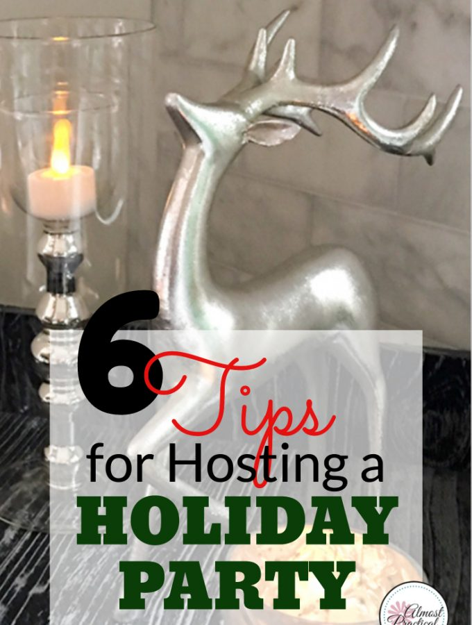 Hosting the Holiday Party? 6 Tips for a Stress-Free Celebration