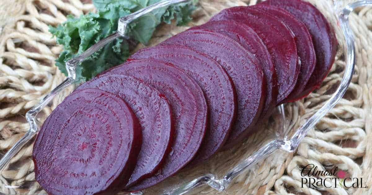 Most of us don't know how to cook beets, even though they are so healthy. Use this recipe to cook beets in a pressure cooker or steam them on the stovetop.