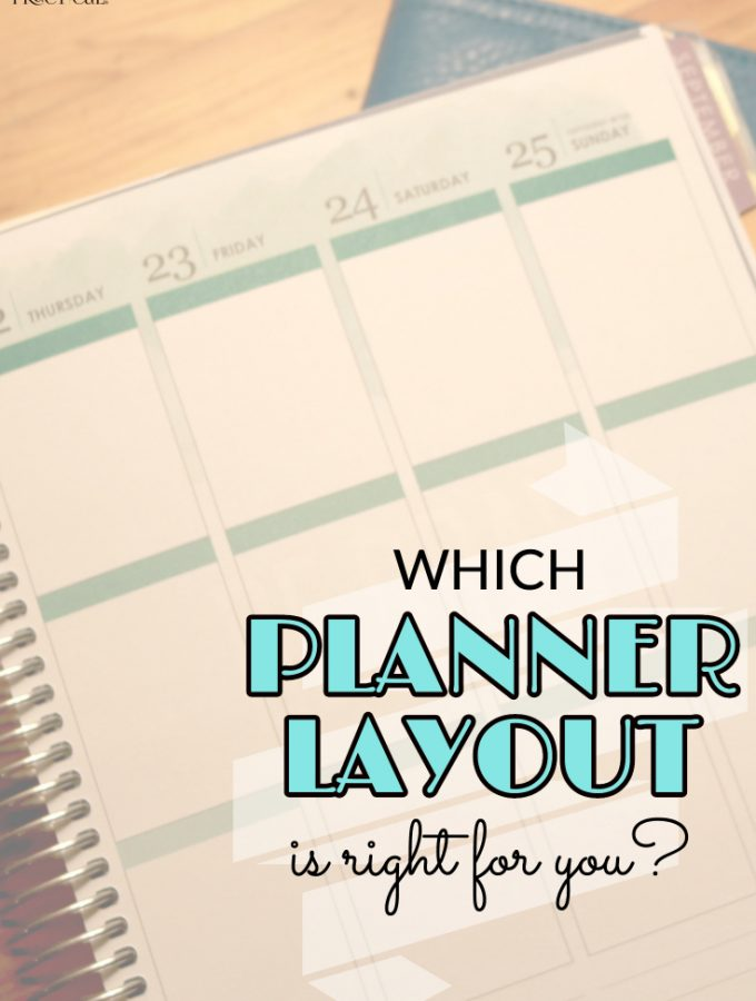 Which Planner Layout Will Make You More Productive?