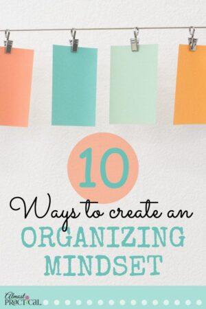 Creative organizing tips and ideas to help you find motivation to declutter your home and life.
