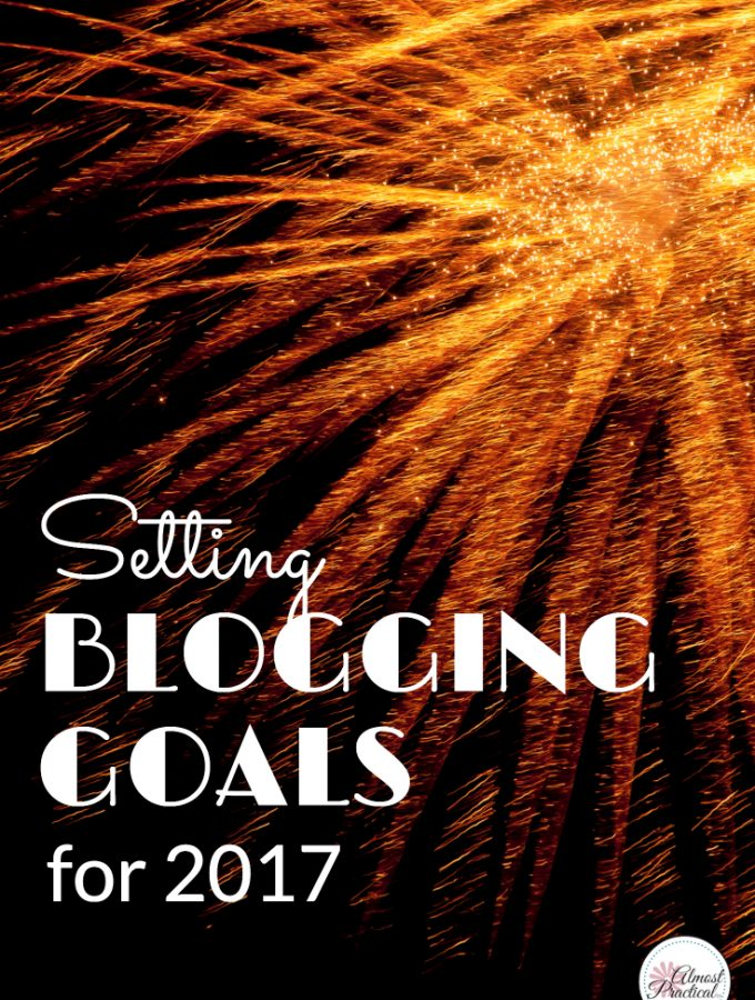 Happy New Year – Blogging Goals for 2017