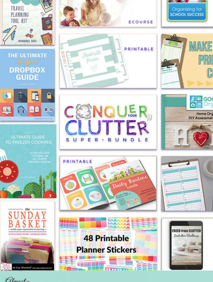 Control Your Clutter – 38 Amazing Resources to Help You Get Organized