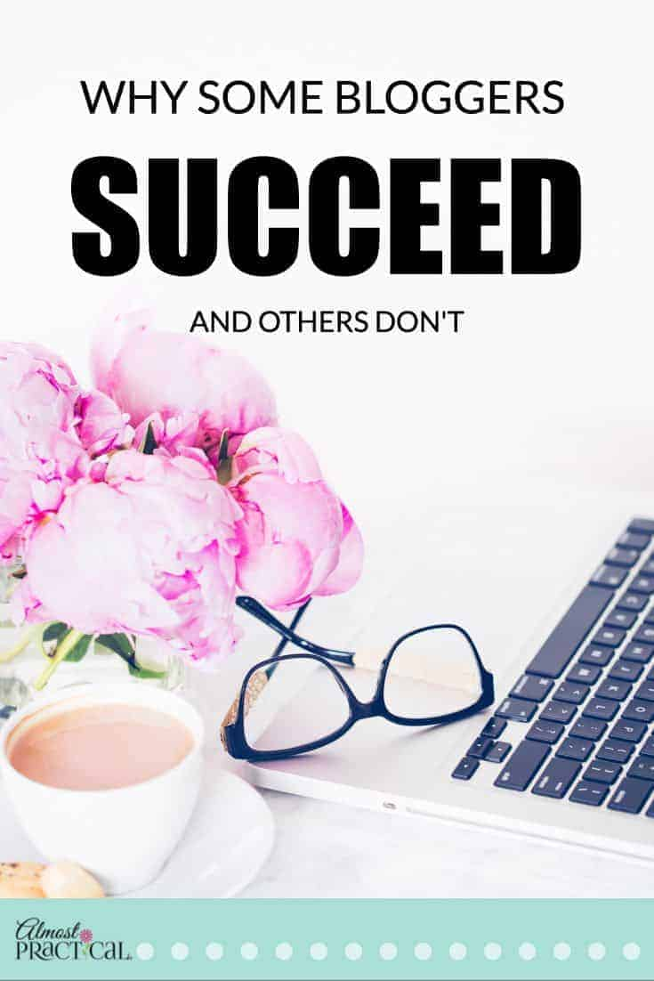 Why some bloggers succeed and others don't.