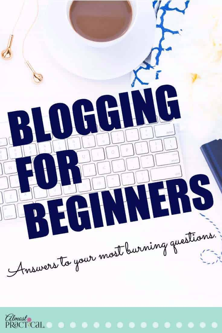 Blogging for Beginners FAQ - blogging tips, tricks, and ideas for new bloggers.