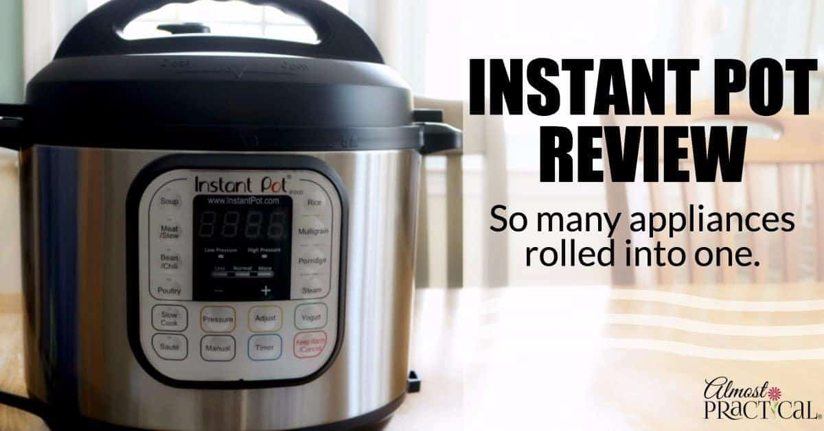 Do you want a pressure cooker, slow cooker, rice cooker, and yogurt maker? Read this Instant Pot review to see how this one kitchen appliance does it all.