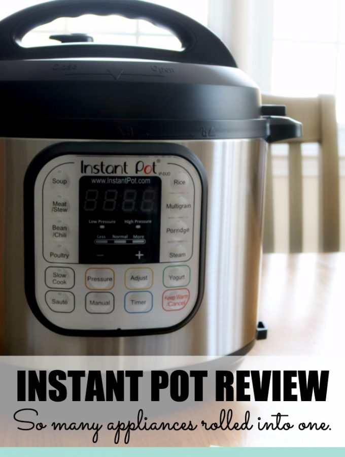 Instant Pot Review – Pressure Cooker, Slow Cooker, Yogurt Maker, and Rice Cooker