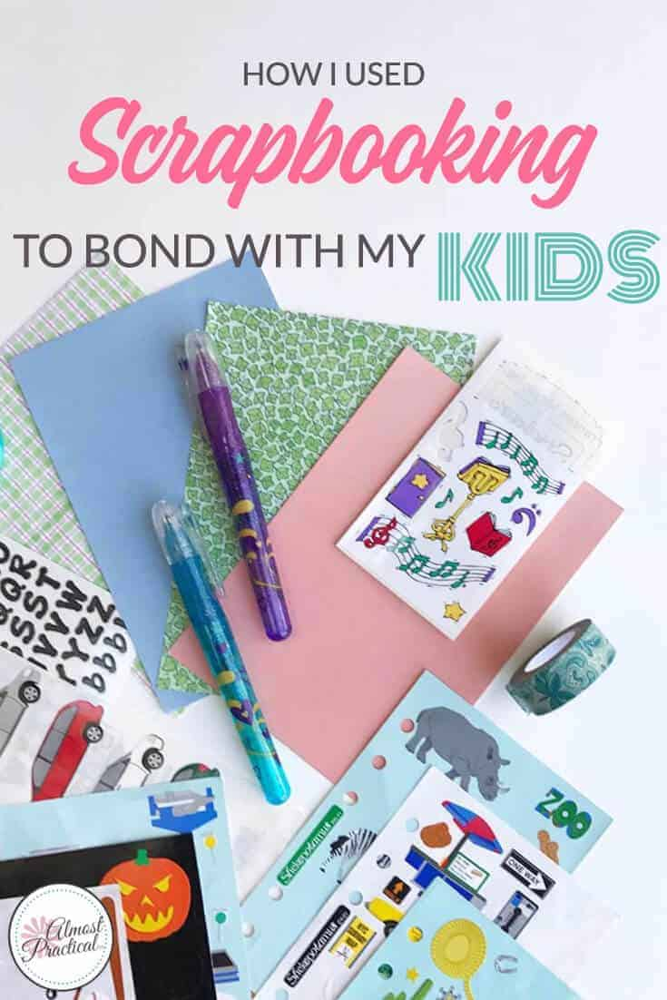 How I used scrapbooking to bond with my teenage kids. A parenting DIY that you can't afford to miss.