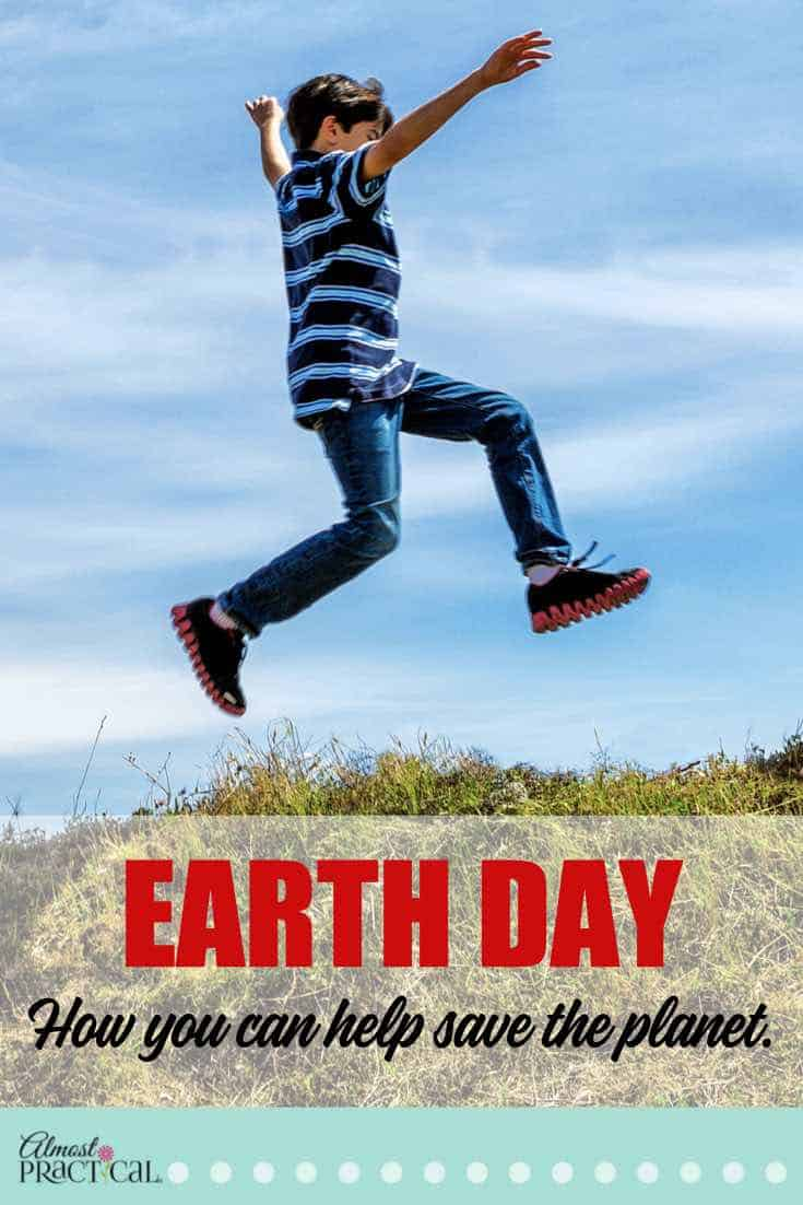 Common sense Earth Day activities for your family. Show your kids how to save the planet with crafts that help the environment, not hurt it.