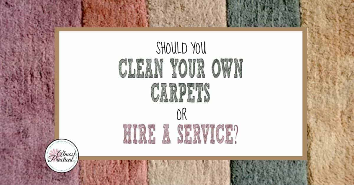 Should You Clean Your Own Carpets Or Hire A Carpet