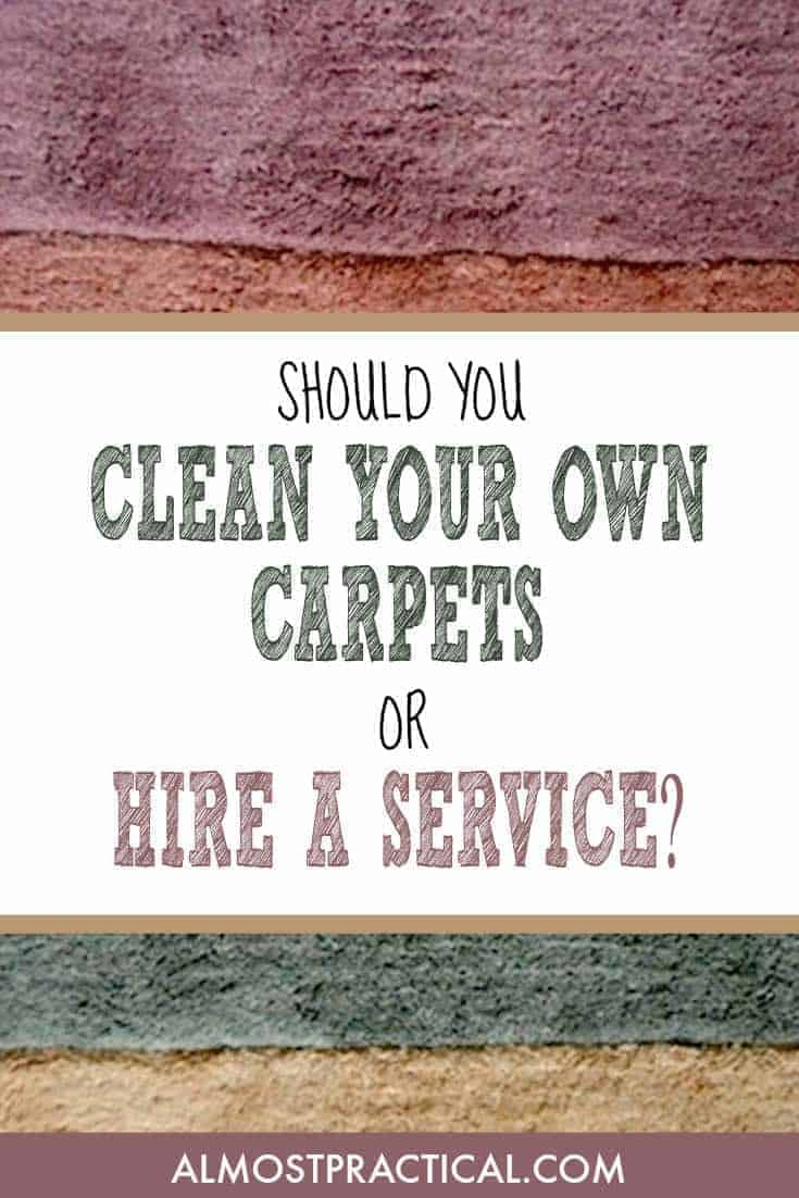 Should you shampoo your own rugs or hire a carpet cleaning service?