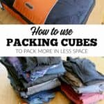 How to Use Packing Cubes to Pack More in Less Space