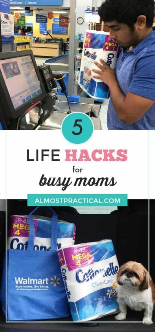 Let's face it, when kids are home for the summer, busy moms get busier. These 5 life hacks will help you get things done more efficiently.