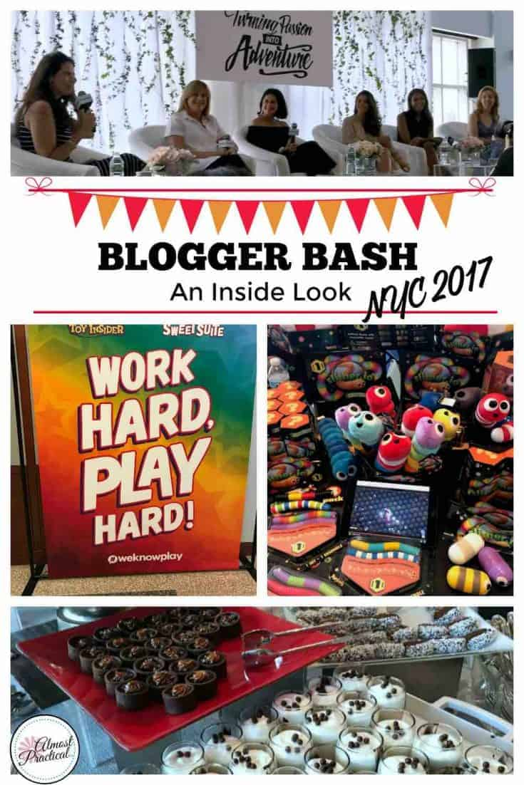 Blogger Bash NYC 2017 - An inside look at this blogging conference featuring fun, food, tech, and toys.