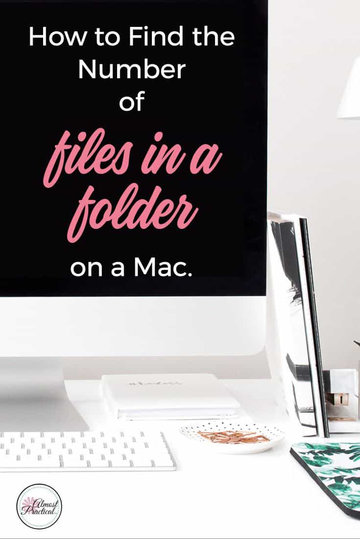 This is how to see the number of files in a folder on a Mac. It's easy to do if you know where to look. This quick tech tutorial will show you how.