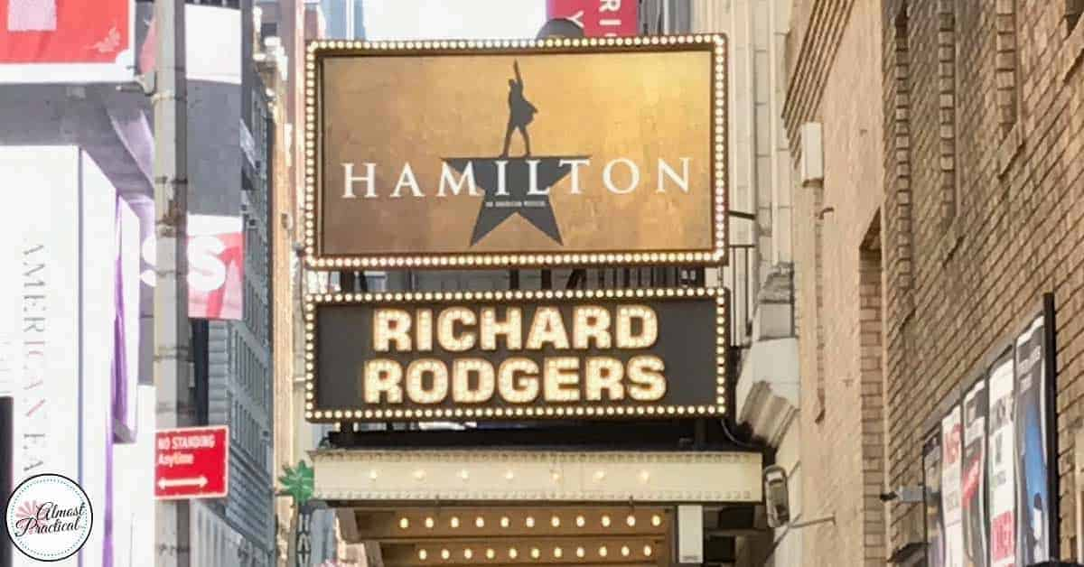How to get Hamilton tickets on Broadway in New York City.