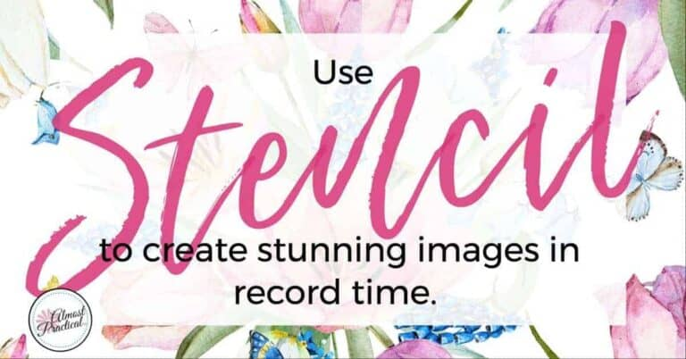 The Stencil App: Create Stunning Images in Record Time