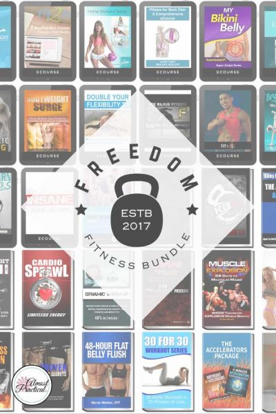 The Freedom Fitness Bundle from Ultimate Bundles includes 50 digital resources that will help make your workouts more effective. Make your exercise time count and work towards healthy and fit body that you will love.