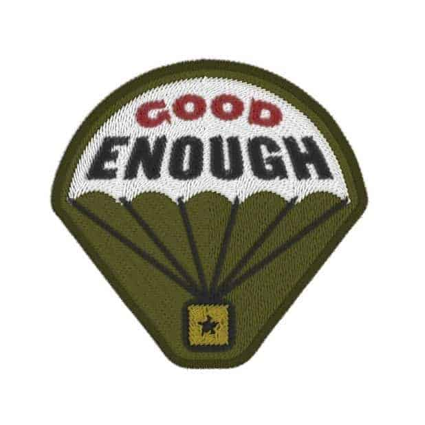 The Red Baron® Baroness patch that is me - Good Enough.