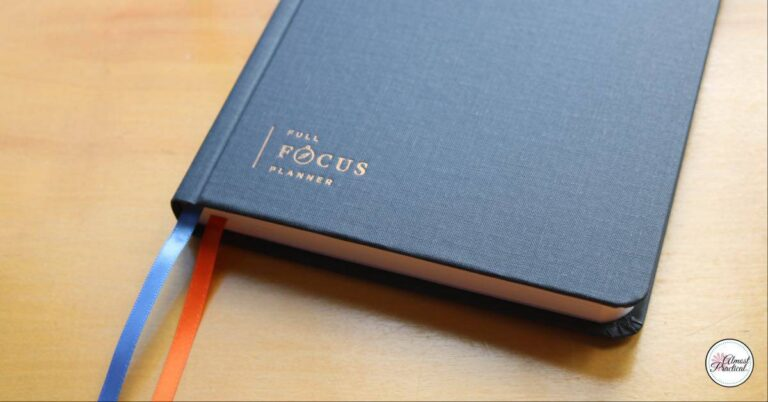 Full Focus Planner Review – Michael Hyatt's New Planner Helps With Goals