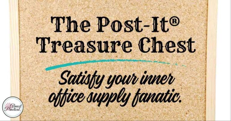 The Post-It® Treasure Chest is On Sale Right Now