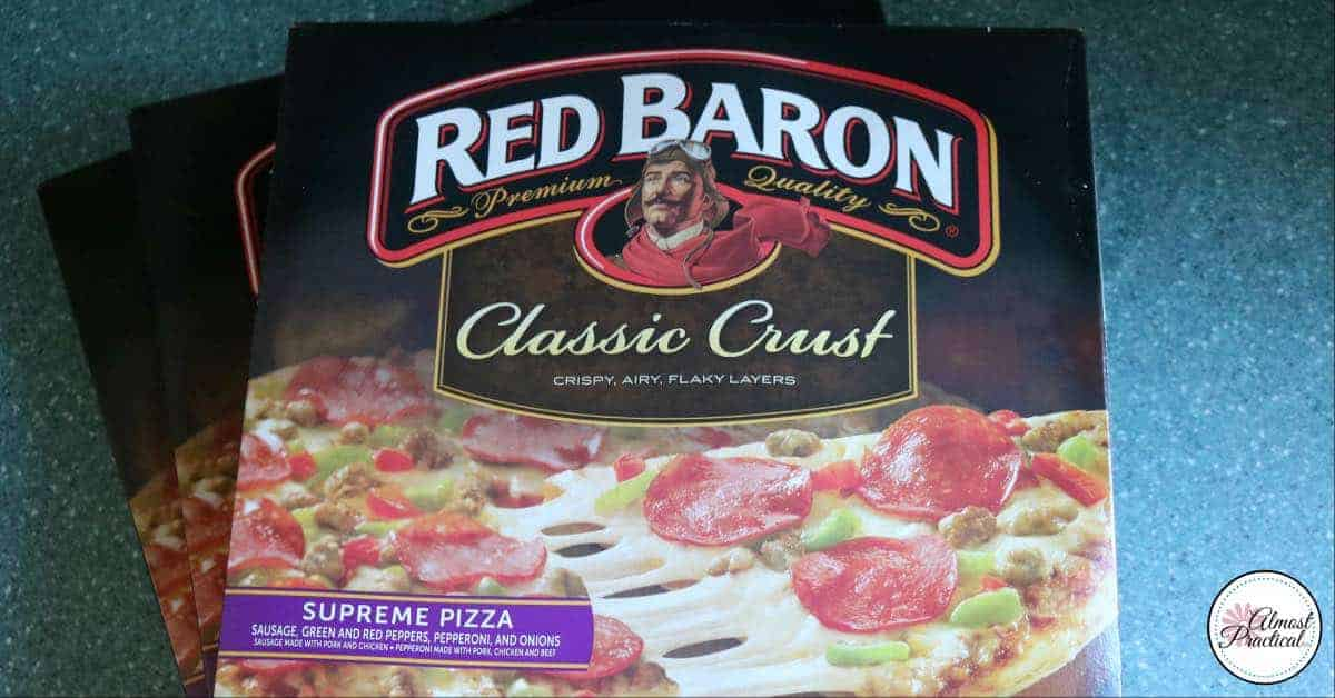 Red Baron® pizza makes a delicious meal that the whole family will love.