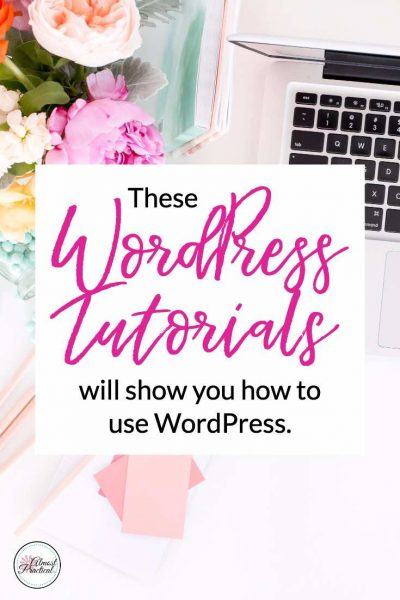 These WordPress Tutorials will show you how to use WordPress.
