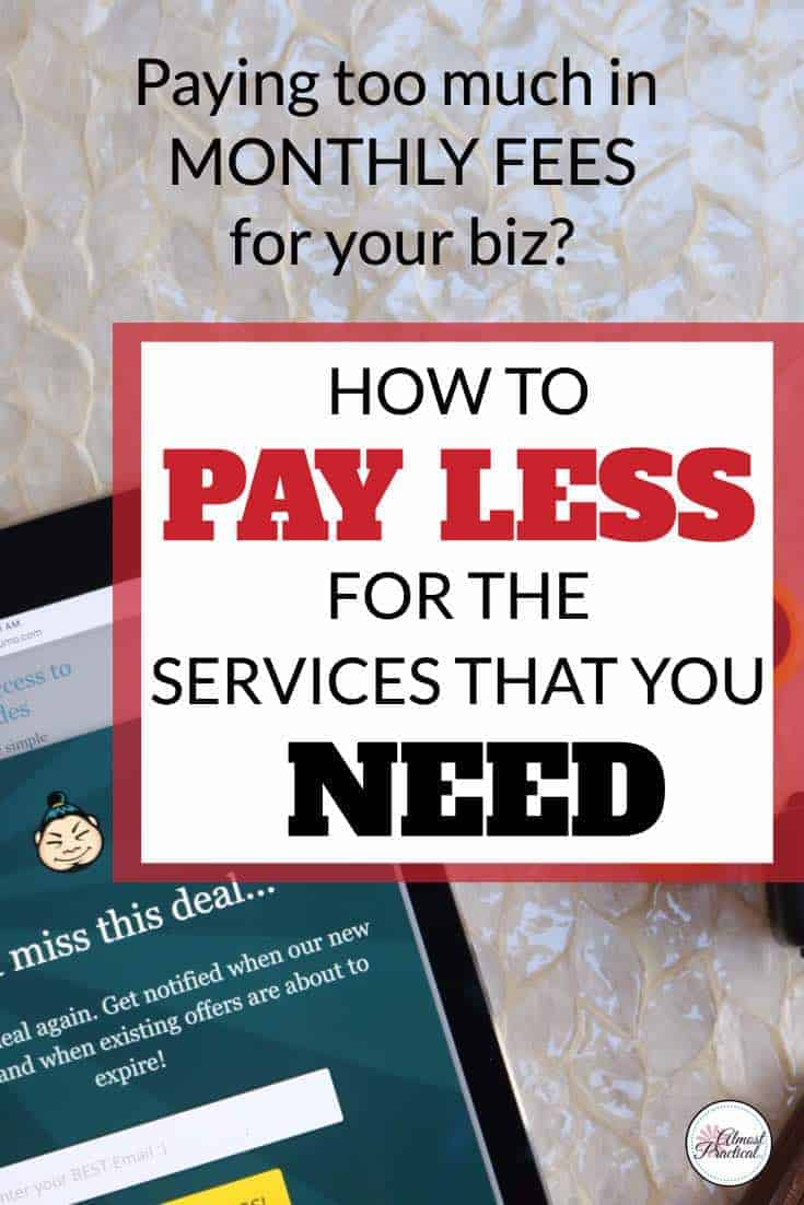 Stop wasting money on monthly fees for services for your blog or small business. Save money with lifetime deals. Blogging tools at huge discounts.