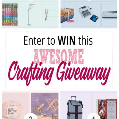 An Amazing Crafting Giveaway For the DIY'er in All Of Us