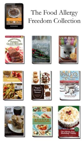 The Food Allergy Freedom Super Bundle from Ultimate Bundles is a collection of food allergy friendly recipes and cookbooks.