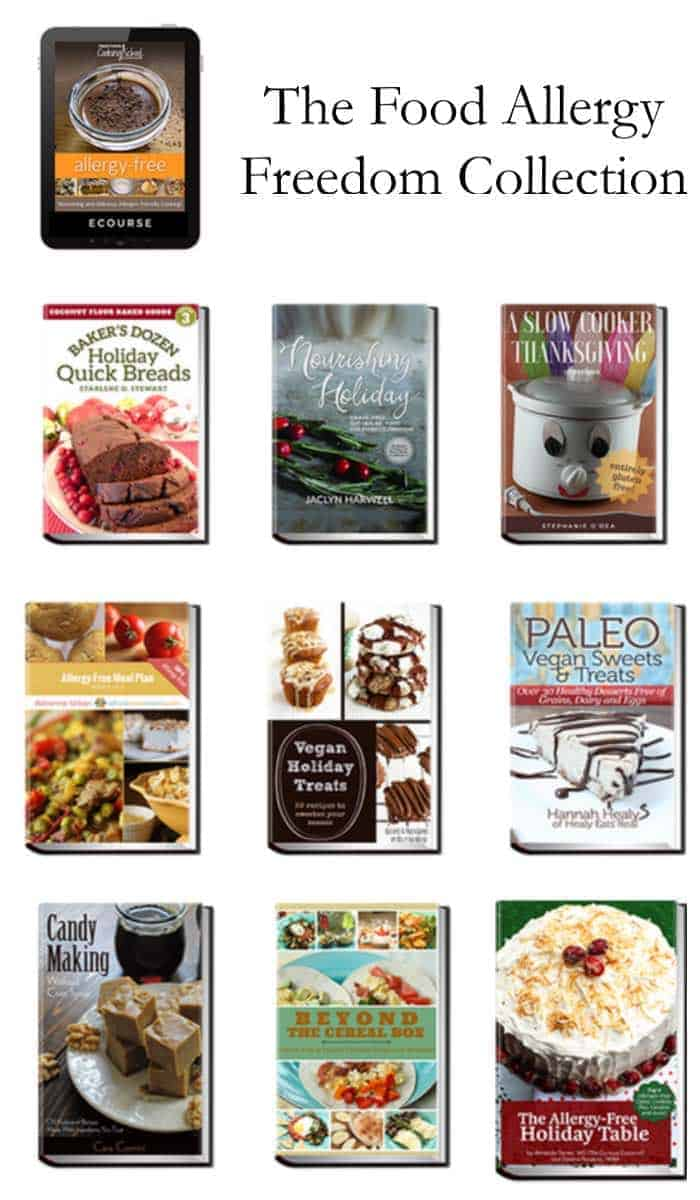 The Food Allergy Freedom Super Bundle from Ultimate Bundles is a collection of food allergy friendly recipes and cookbooks. Make great dairy free, nut free, and nut free recipes that your family will love.