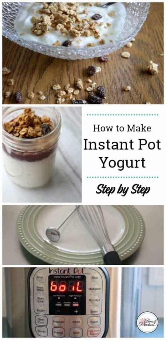 How to make Instant Pot Yogurt Recipe - a step by step tutorial.