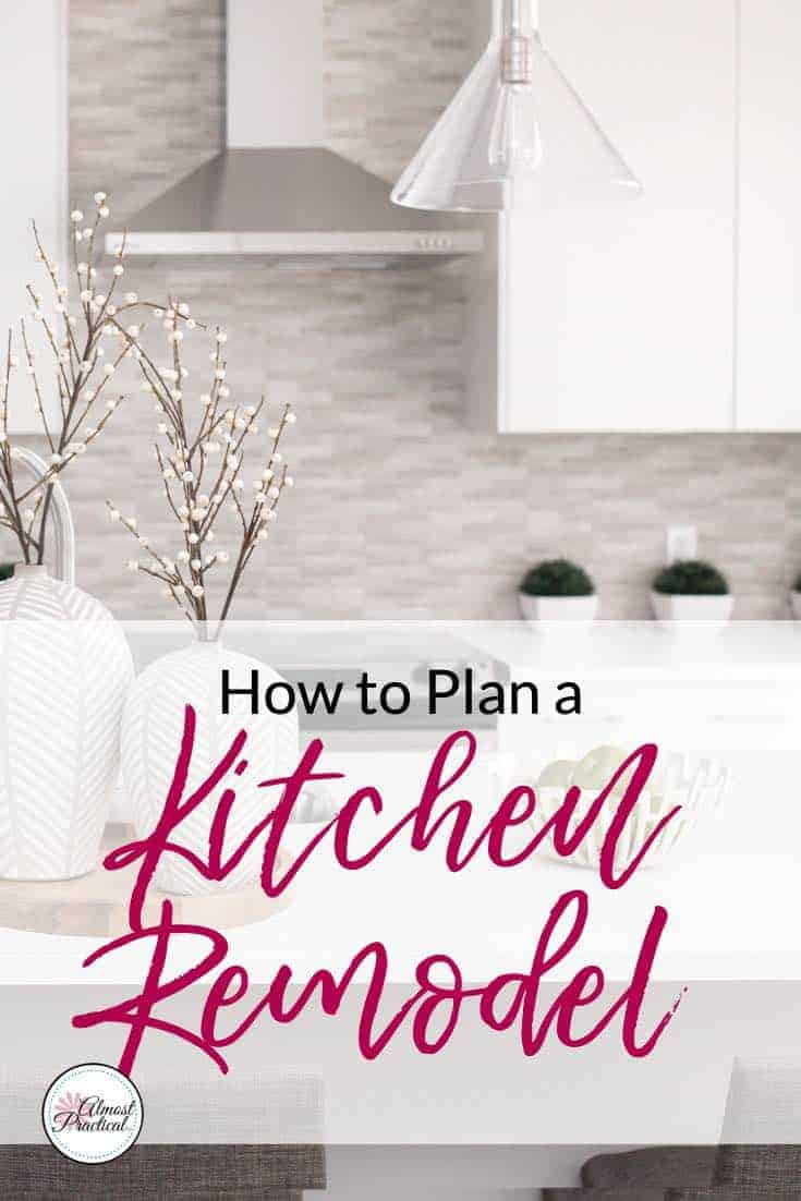 How to plan a kitchen remodel - ideas for decisions from layout to countertops to backsplash to cabinets and more.