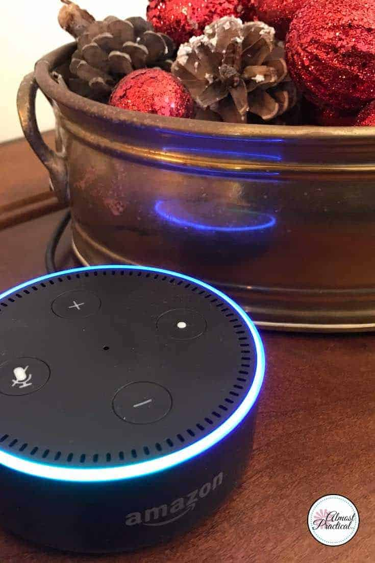 Tips and ideas for using the Amazon Echo Dot in your home to make life easier. Wondering what Echo Dot can do?  Learn Alexa commands and skills to use your Echo to it's full potential.