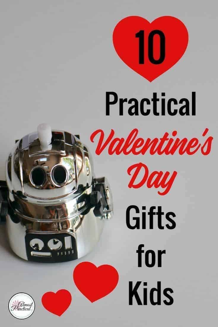 Valentine's Day gift ideas for kids. Celebrate your love for your family without going over the top. These fun, no candy gifts from mom or both parents are cute and affordable. #valentinesday #valentinesdaygiftsforkids