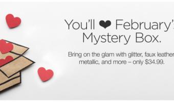 Cricut Mystery Box – February 2018