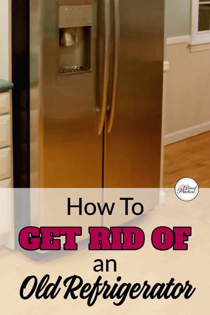 If you are going through a kitchen renovation or are remodeling your home - you probably have some old appliances, that are in good working condition, to get rid of. Here is an idea that you can look into if you want to dispose or donate your old refrigerator or fridge. #kitchenrenovation #remodeling