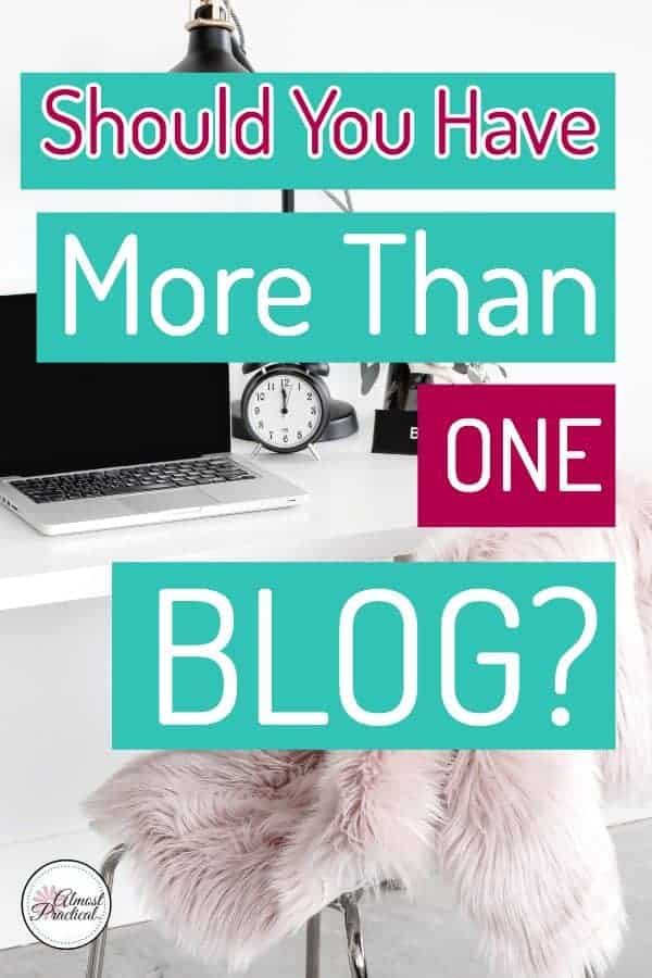 Should you have more than one blog?